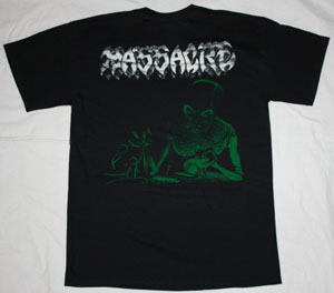 MASSACRE INHUMAN CONDITION '92 NEW BLACK T-SHIRT