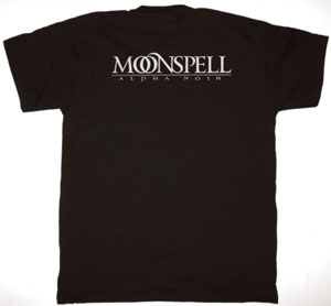 MOONSPELL ALPHA NOIR NEW BLACK T-SHIRT