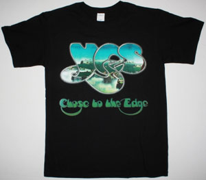YES CLOSE TO THE EDGE 1972 NEW BLACK T-SHIRT