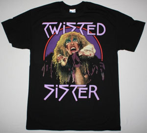 TWISTED SISTER STAY HUNGRY 84 NEW BLACK T-SHIRT