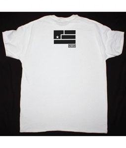 NINE INCH NAILS ART IS RESISTANCE NEW WHITE T SHIRT