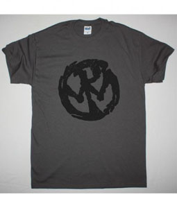 PENNYWISE LOGO NEW GREY CHARCOAL T SHIRT