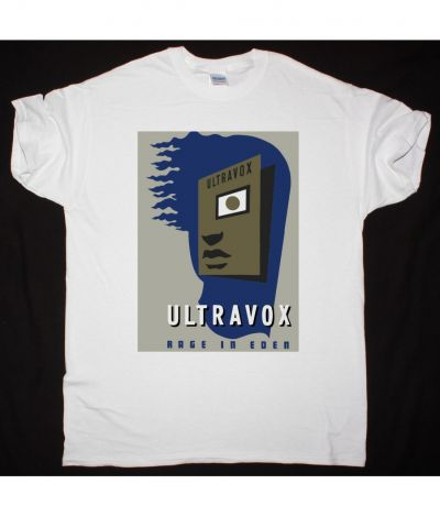 ULTRAVOX RAGE IN EDEN NEW WHITE T SHIRT