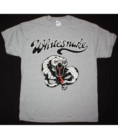 WHITESNAKE MAKE SOME NOISE NEW SPORTS GREY T SHIRT