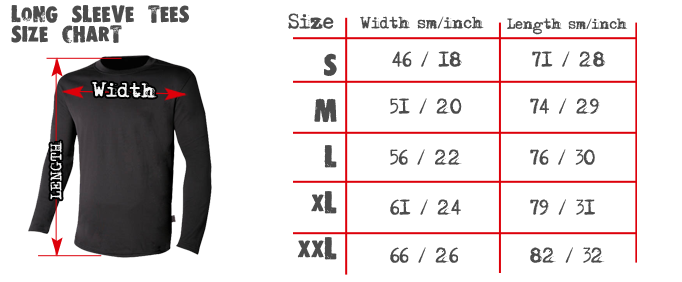 long-sleeve-size-chart